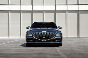 2021 Genesis G80 công bố giá bán, công nghệ sánh ngang Mercedes E-Class