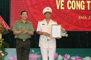 Công an tỉnh Đắk Lắk có thêm Phó giám đốc mới