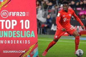 Top 10 sao trẻ Bundesliga có tiềm năng phát triển thần tốc trong FIFA 20