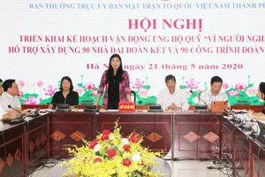 Hà Nội sẽ xây dựng 90 ngôi nhà Đại đoàn kết