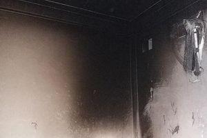 Bốn người bỏng nặng vì phòng ngủ bất ngờ bốc cháy trong đêm
