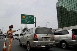 Lái xe vi phạm quá tải, ma túy vẫn nhức nhối trên cao tốc Pháp Vân - Ninh Bình