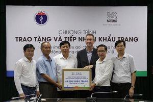 Nestlé Việt Nam ủng hộ 88.000 khẩu trang để chống dịch