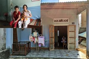 Mẹ trẻ bệnh tim chỉ biết ôm con 6 tháng chờ sữa từ hàng xóm