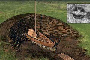 Khai quật tàu chiến Viking trong lòng đất ở Na Uy