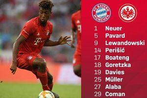 Bayern 0-0 Frankfurt: Lewandowski lĩnh xướng hàng công