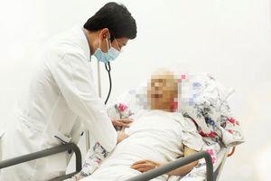 Đặt stent trong lòng stent cứu sống bệnh nhân