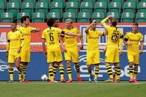 Haaland tịt ngòi, Dortmund vẫn khiến 'Hùm xám' nóng gáy
