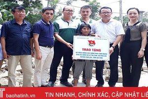 Hỗ trợ 50 triệu đồng xây nhà tình nghĩa cho phụ nữ đơn thân ở Can Lộc