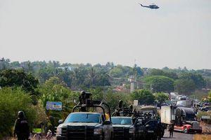 Phát hiện thi thể 12 đàn ông bị súng bắn sau xe bán tải ở Mexico
