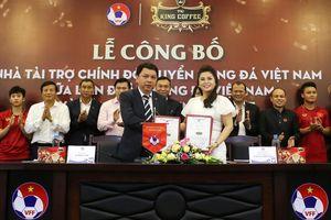 King Coffee tài trợ 3 năm cho thầy trò Park Hang-seo