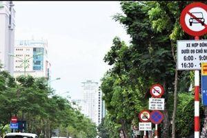 40 loại biển báo cấm người tham gia giao thông theo quy chuẩn mới