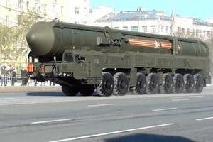 Lực lượng tên lửa chiến lược Nga đưa vào trang bị ICBM Yars-S mới