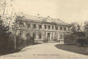 Ngỡ ngàng loạt công trình tráng lệ ở Vinh 100 năm trước
