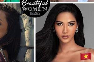 Hoàng Thùy là đại diện duy nhất của Việt Nam lọt top 100 mỹ nhân đẹp nhất showbiz thế giới