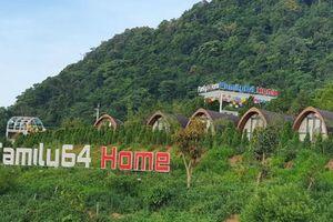 Khu nghỉ dưỡng Family 64 Home xây dựng trái phép, phá vỡ quy hoạch Khu du lịch Quốc gia tại huyện Vân Hồ?