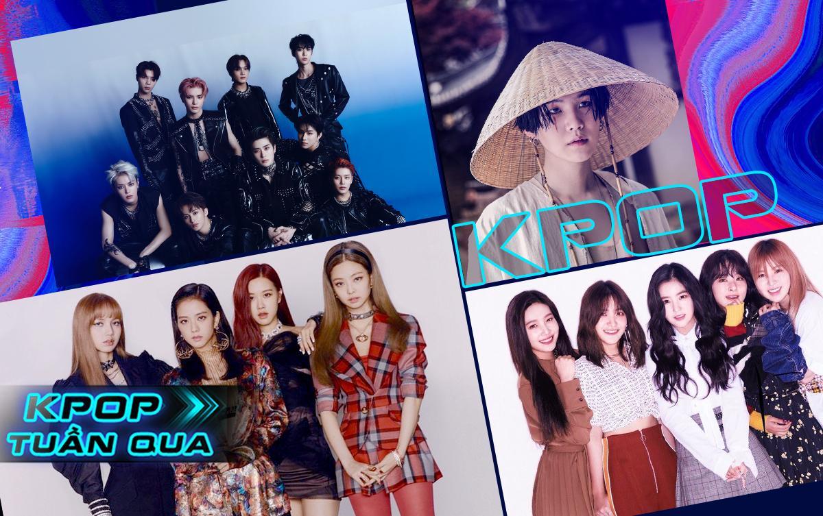 Kpop tuần qua: BlackPink cập nhật chi tiết full album đầu tay, NCT 127 đạt triệu bản, Suga (BTS) đánh úp fan, Red Velvet có thêm hit đạt 100 triệu lượt stream