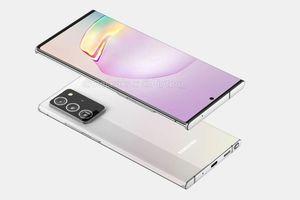 Galaxy Note20+ lộ diện toàn tập với thiết kế góc cạnh, màn hình 6.9 inch siêu lớn