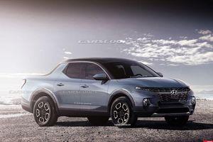 Mẫu bán tải Hyundai Santa Cruz được nguy trang bất ngờ xuất hiện, chờ ngày ra mắt chính thức