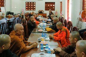 Bình Phước : Sắp đặt đá xây VP BTS Phật giáo tỉnh