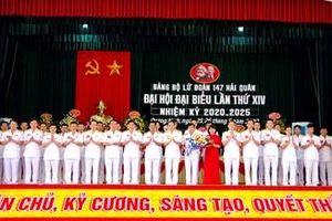 Đại hội Đại biểu Đảng bộ Lữ đoàn 147, Vùng 1 Hải quân lần thứ XIV