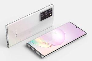 Thêm hình ảnh Galaxy Note 20+, thiết kế mới, cụm camera to