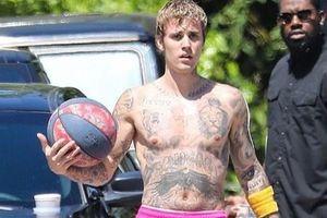 Justin Bieber béo bụng sau thời gian cách ly tại nhà