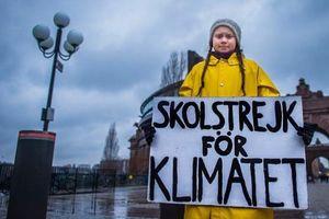 Cô bé nghỉ học, đi biểu tình để cứu Trái Đất