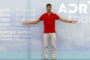 Novak Djokovic đăng cai giải quần vợt vùng Balkan