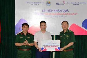 MB Ageas trao 500 triệu đồng hỗ trợ cán bộ, chiến sĩ biên phòng