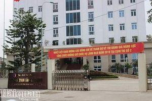 Cục trưởng Cục Hải quan Bắc Ninh bị tạm đình chỉ công tác do liên quan đến nghi vấn hối lộ