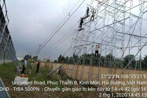 Dự án Đường dây 220kV Nhiệt điện Hải Dương - Trạm 500 kV Phố Nối đang vướng về GPMB