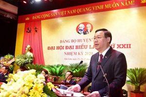 Đại hội đại biểu Đảng bộ huyện Gia Lâm lần thứ XXII, nhiệm kỳ 2020-2025