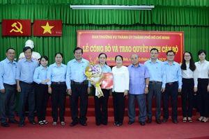 Bổ nhiệm nhân sự, lãnh đạo mới tại TP.HCM, Khánh Hòa, Sóc Trăng