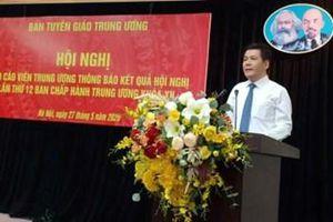 Tăng cường tuyên truyền về kết quả Hội nghị Trung ương lần thứ 12