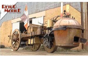 Đây là chiếc ôtô đầu tiên trên thế giới, cách đây hơn 250 năm