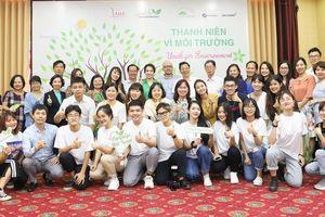 Công bố dự án truyền thông 'Thanh niên vì Môi trường'