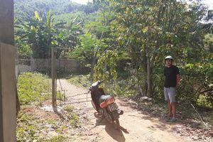 Nghệ An: Ngang nhiên chặn đường để thu phí người dân vào rừng