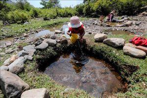 Mưa dông tại thượng nguồn giải hạn cho Ninh Thuận