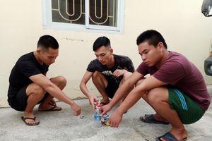 Hải Phòng: 3 thanh niên rủ nhau ra khu tái định cư trong đêm để sử dụng ma túy