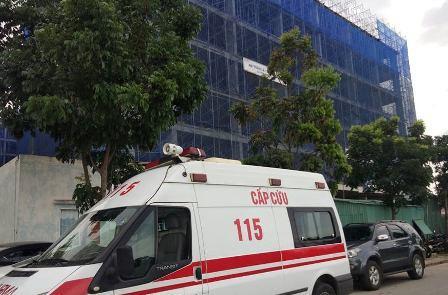 Rơi từ tầng 5, nam công nhân 66 tuổi thiệt mạng
