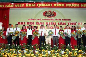 Đảng bộ phường Kim Giang tổ chức thành công Đại hội nhiệm kỳ 2020-2025