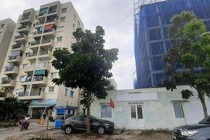 TT- Huế: Công nhân lớn tuổi rơi từ tầng 4 tòa nhà xuống đất