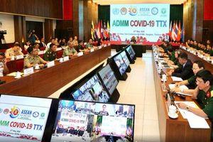 Quân y ASEAN diễn tập trực tuyến phòng chống dịch Covid-19