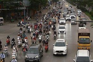 Hà Nội tăng cường tuần tra, xử lý vi phạm giao thông