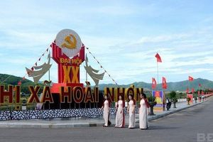 Công bố thị xã Hoài Nhơn (Bình Định) với 17 đơn vị cấp xã