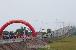 Đưa vào sử dụng cầu Thịnh Long hơn 1.000 tỷ đồng ở Nam Định