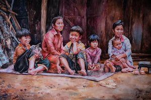 Triển lãm tranh trực tuyến gây quỹ xây nhà tặng người nghèo