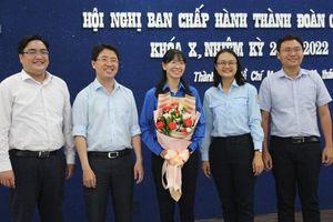 Chị Phan Thị Thanh Phương giữ chức Bí thư Thành Đoàn TPHCM