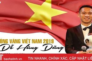 Chân dung Quả bóng Vàng Việt Nam 2019 Đỗ Hùng Dũng